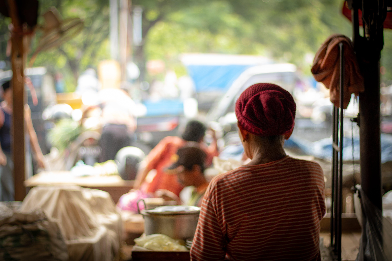 Free stock photo of indonesia, keputran, market, street market