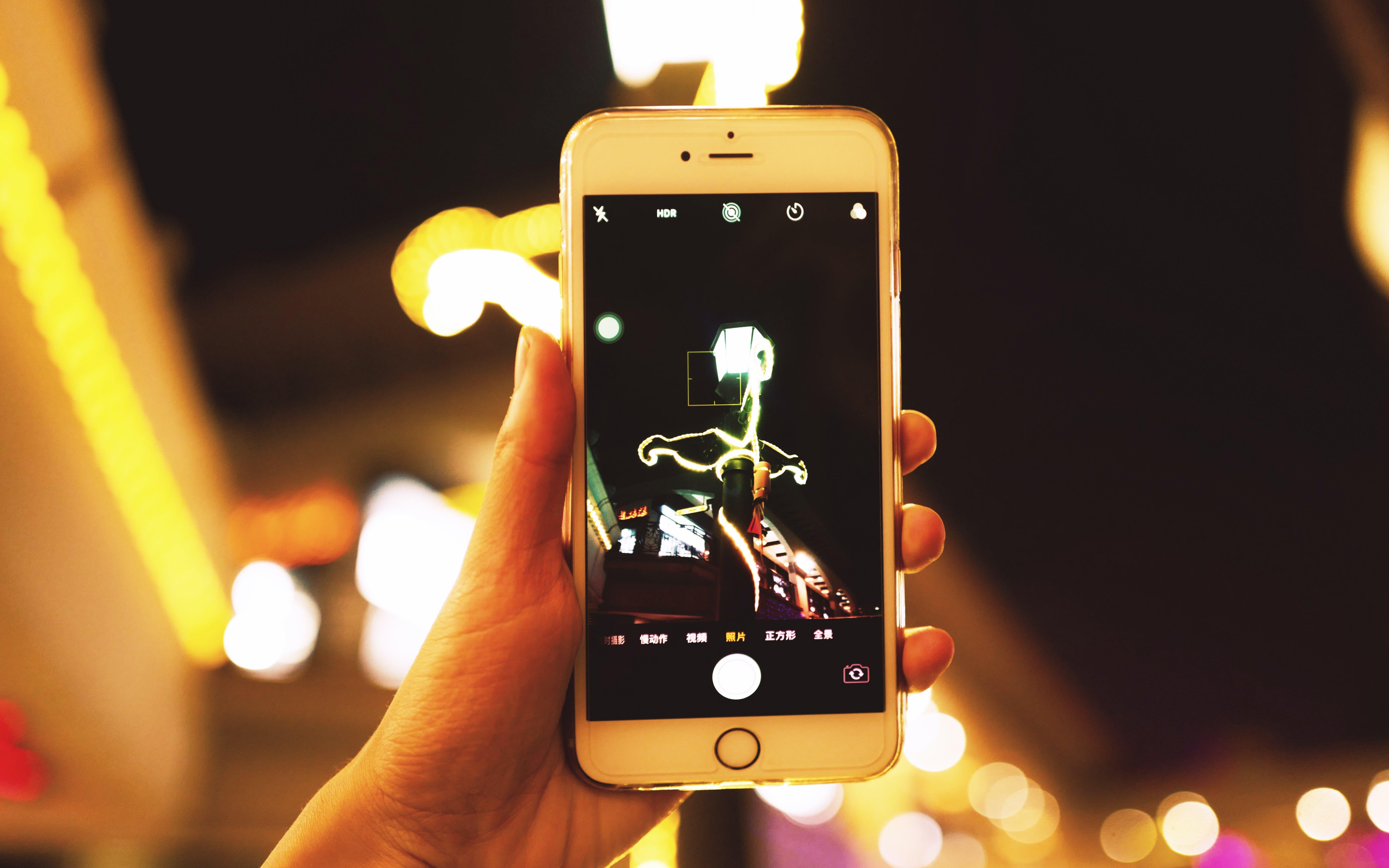 Δωρεάν στοκ φωτογραφιών με iphone, macro, smartphone, οθόνη