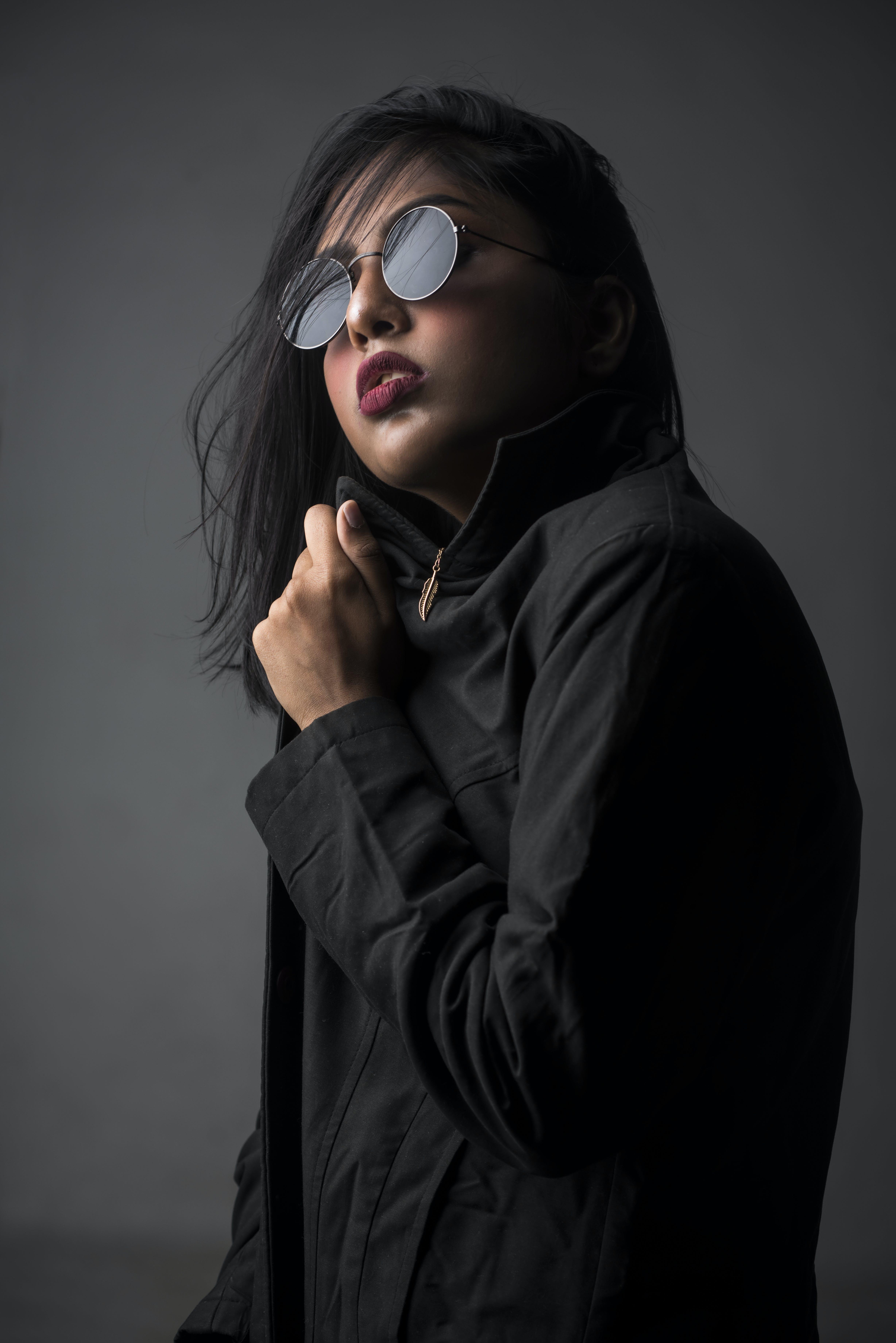 Woman Posing for Photo Shoot