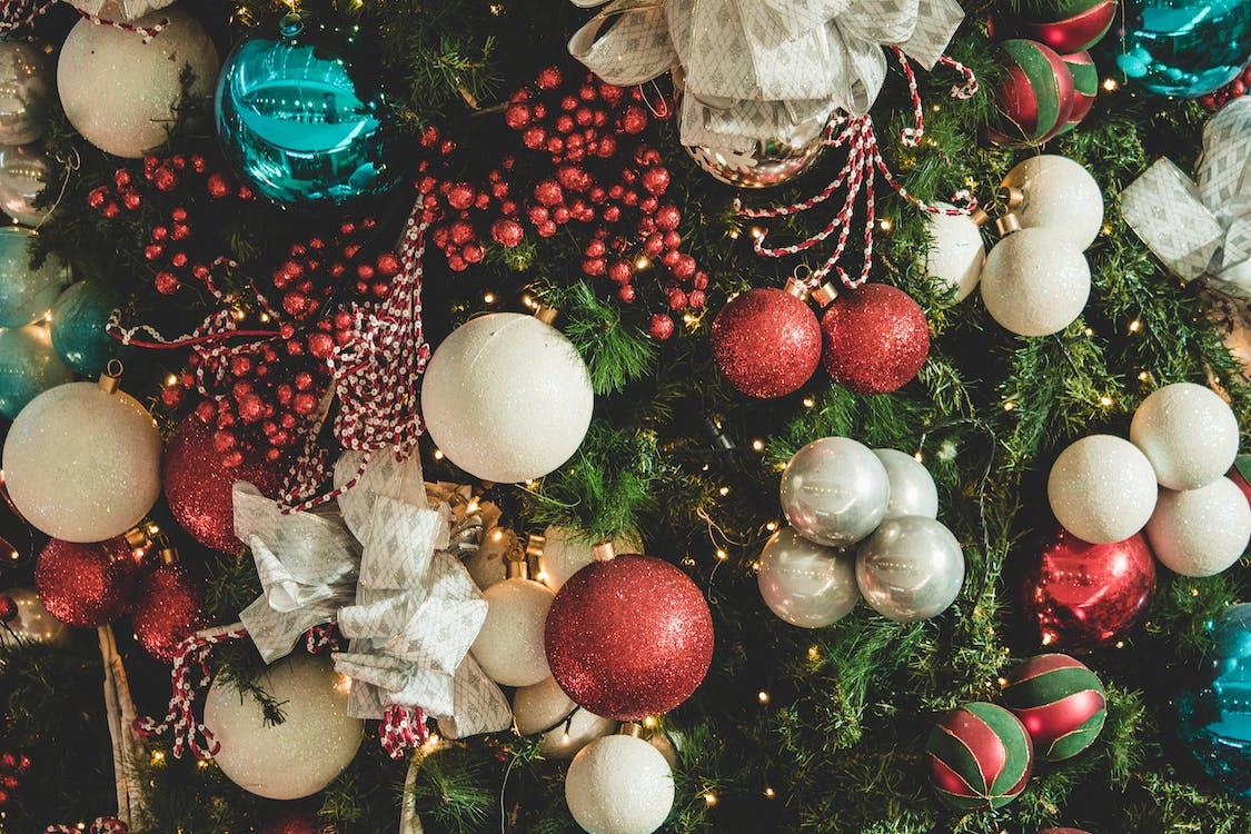 hängande, jul, julbelysning