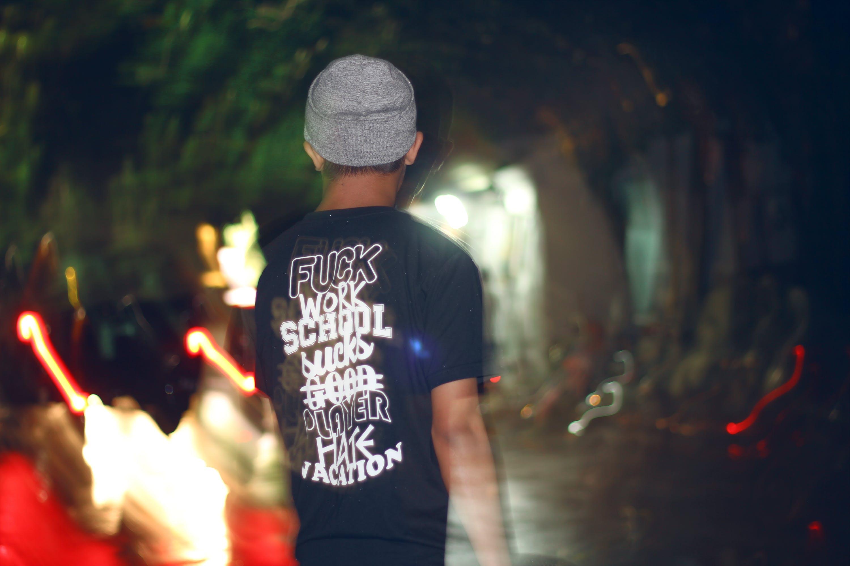 Free stock photo of fashion, man, person, lights
