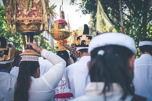 คลังภาพถ่ายฟรี ของ nyepi, การสู่ขอ, การอธิษฐาน, ขบวน