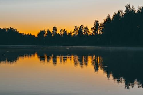 Δωρεάν στοκ φωτογραφιών με Ανατολή ηλίου, αντανάκλαση, ατάραχος, αυγή