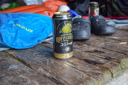 Free stock photo of alcohol bottles, forest, hiker, hikers