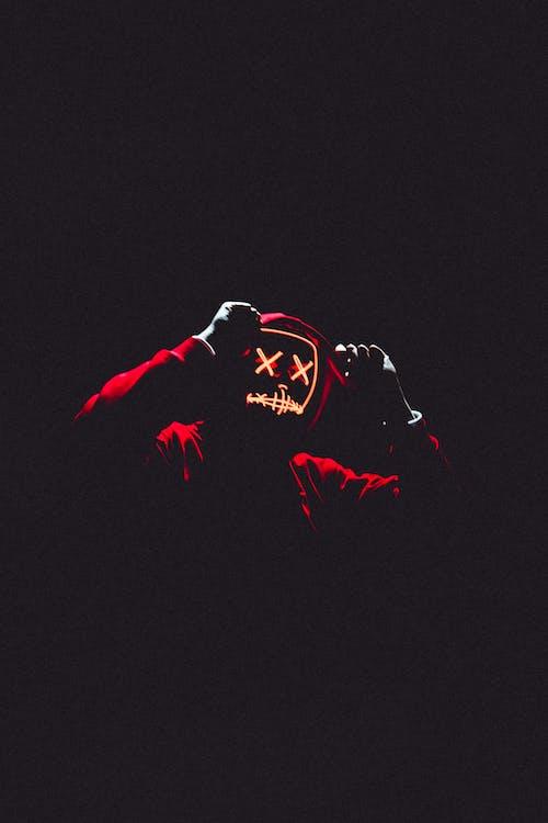 Ảnh lưu trữ miễn phí về ánh sáng, áo hoodie, kinh dị, mặt nạ