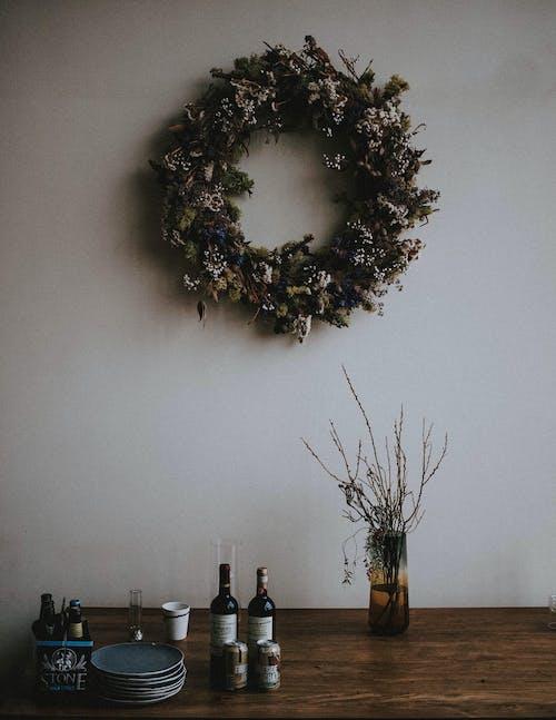Gratis stockfoto met decor, kerstdecor, kerstdecoratie, krans