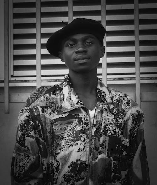 Foto stok gratis fashion, gaya, hitam & putih, laki-laki