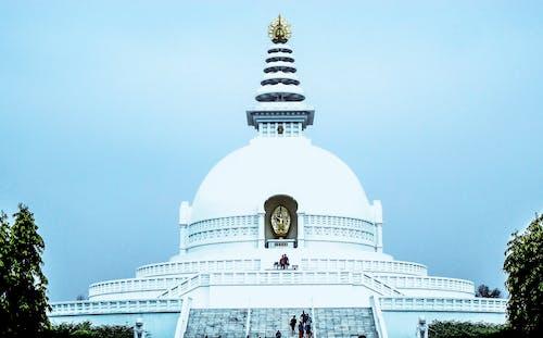 Kostenloses Stock Foto zu buddha, friedenspagode, lumbini