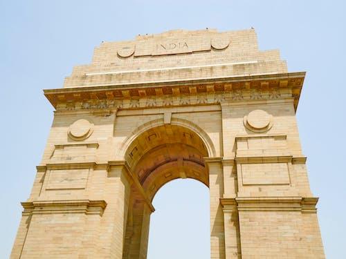 Kostenloses Stock Foto zu india gate, indien