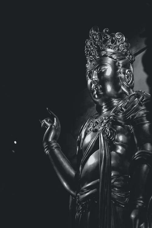 Free stock photo of statue of buddha