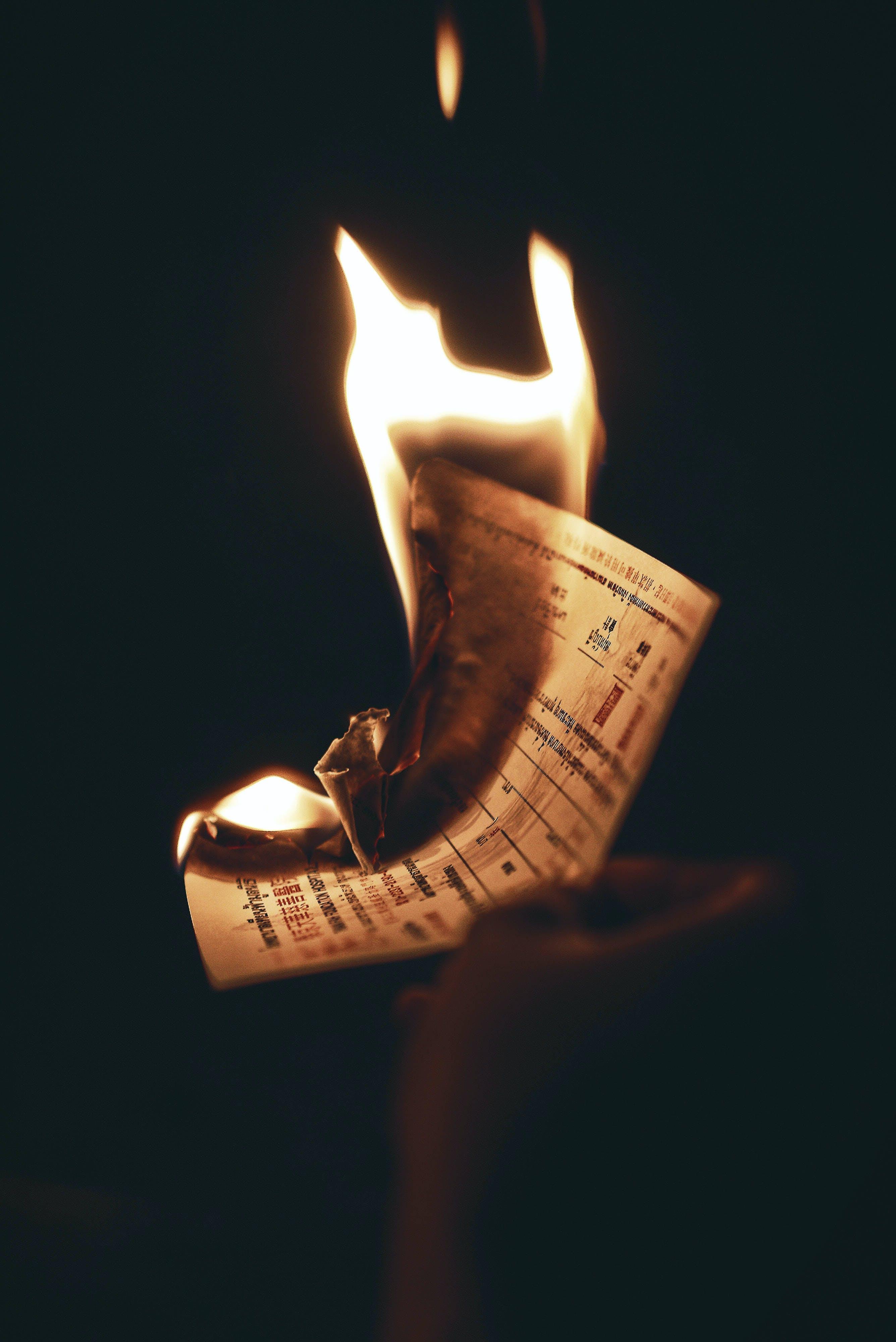 Základová fotografie zdarma na téma hoření, oheň, plamen, zničit