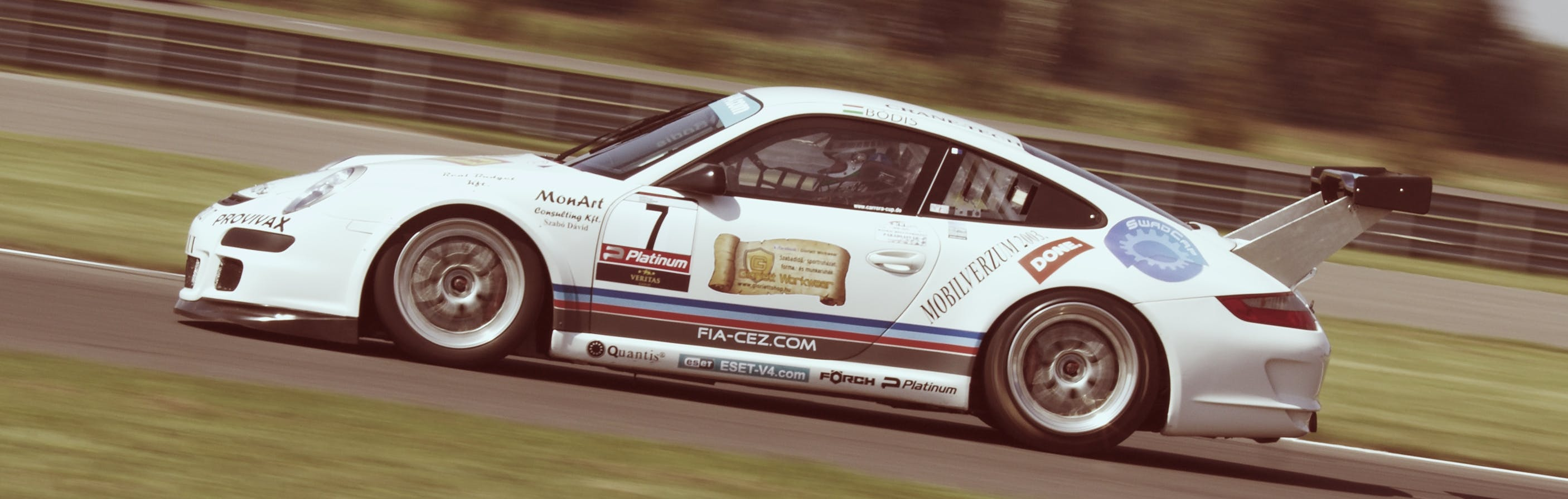 Free stock photo of porsche, race, motor sport, slovakia