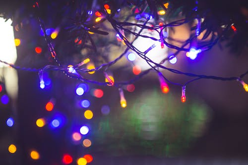 Ingyenes stockfotó fények, Karácsony, Karácsonyi fények, megvilágított témában