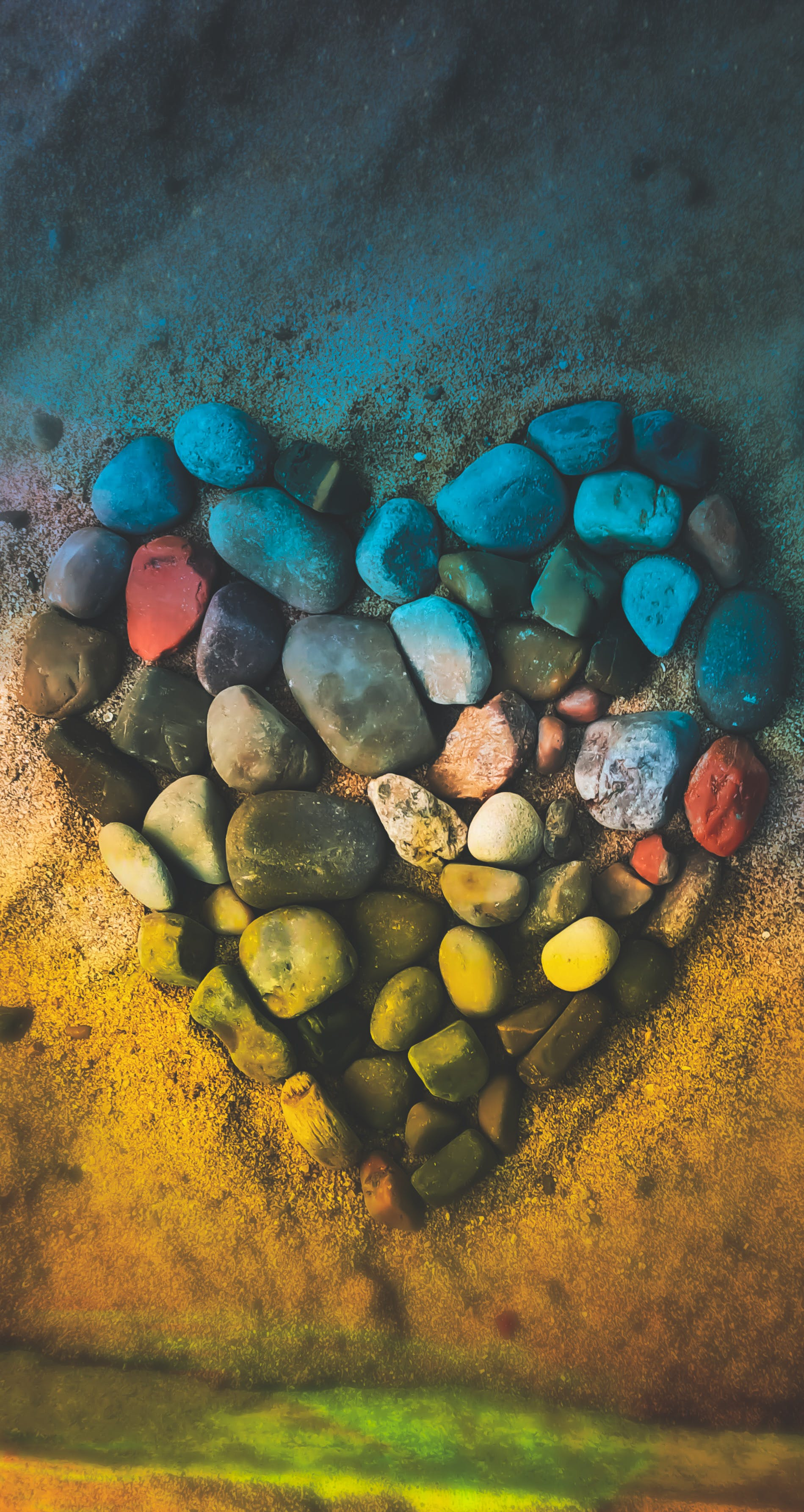Free stock photo of cobblestone, gemstone, HD wallpaper, heart