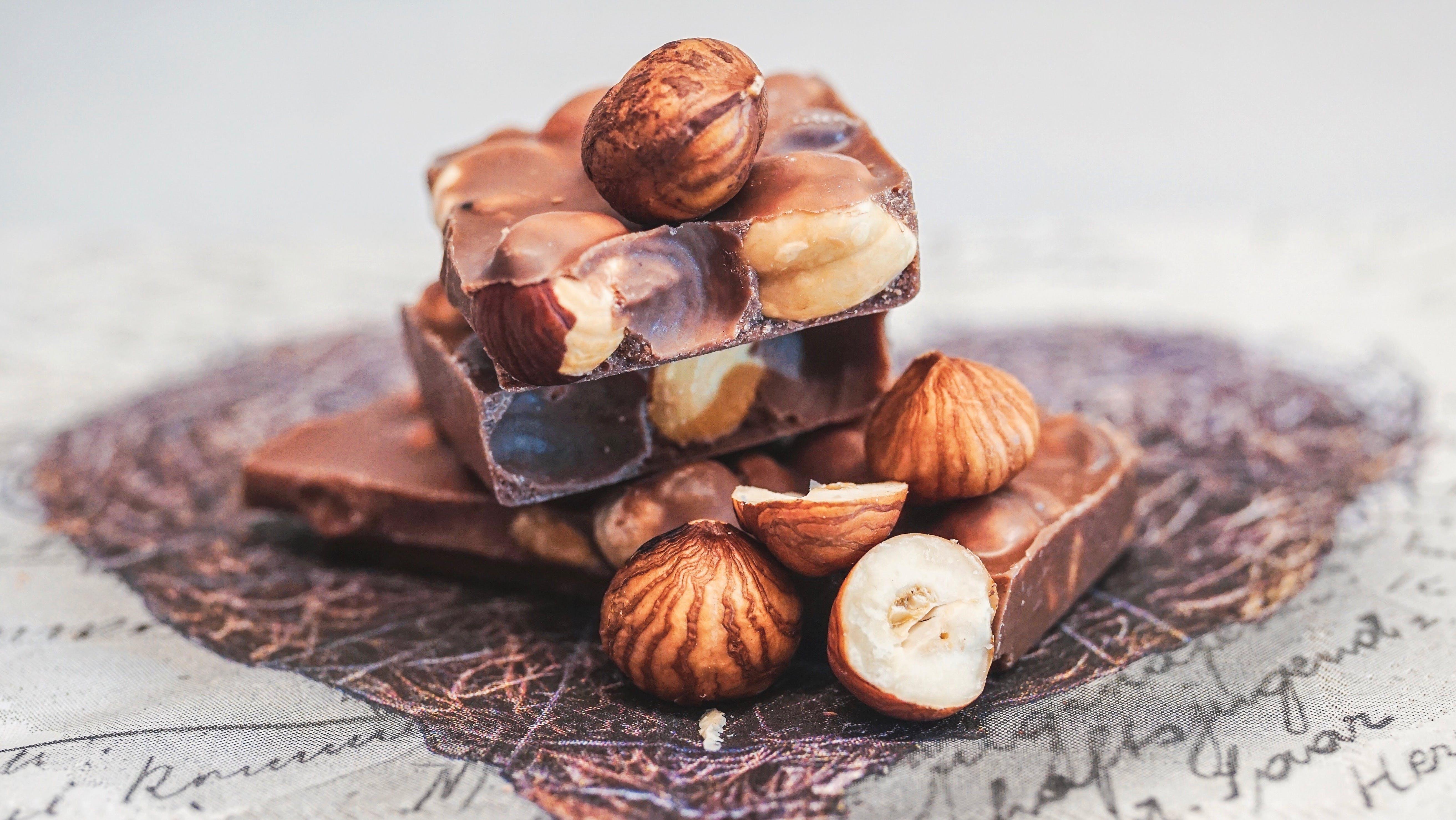 Gratis lagerfoto af bar, chokolade, chokoladebar, close-up