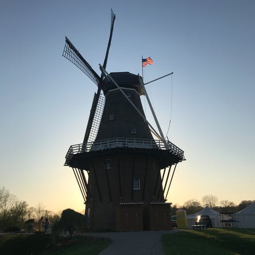 Free stock photo of windmill