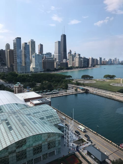 Free stock photo of navy pier
