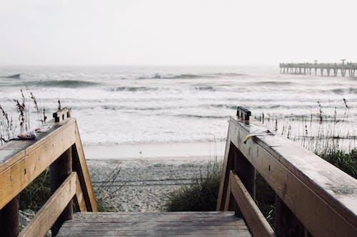 Foto d'estoc gratuïta de a l'aire lliure, mar, oceà, onades
