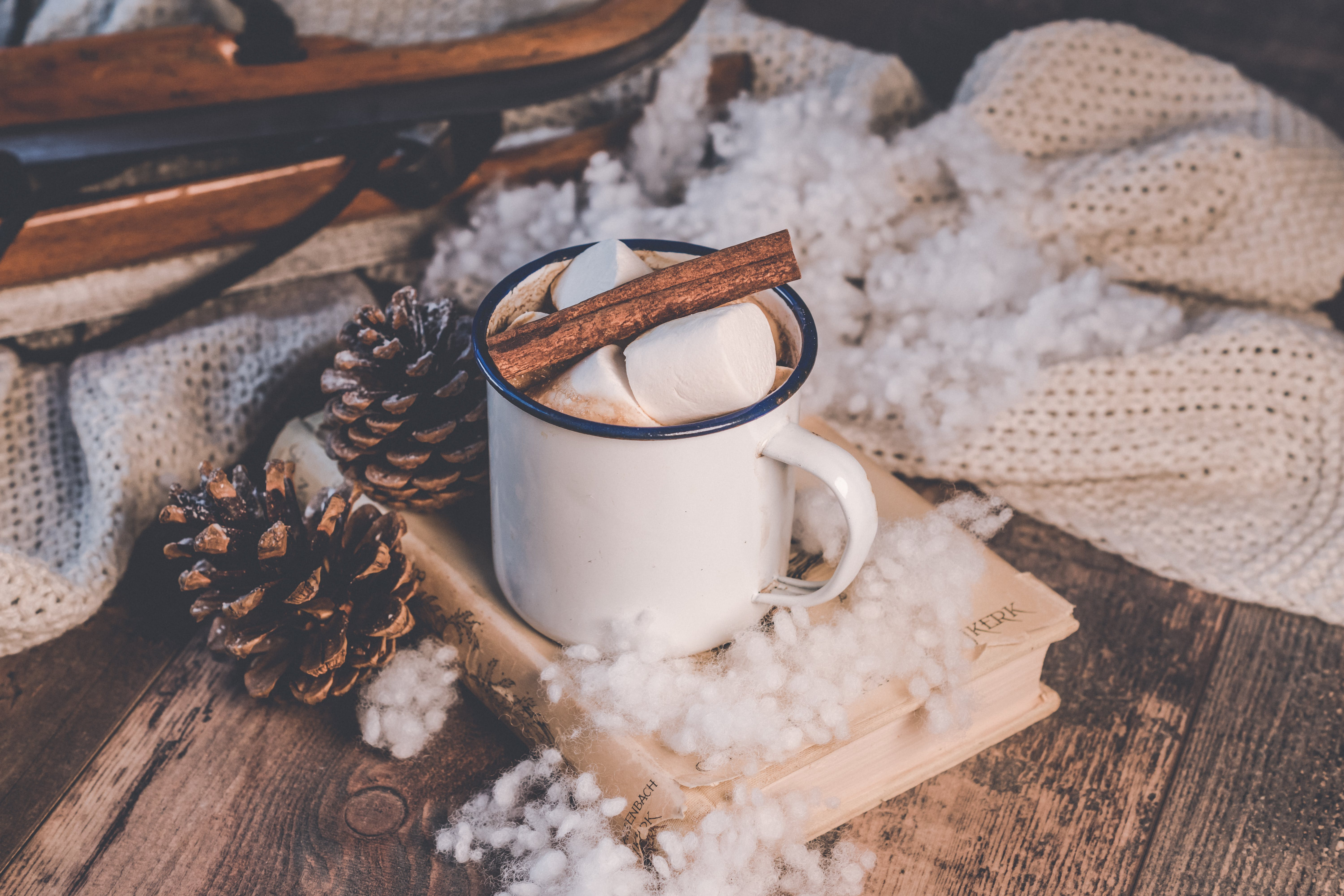 Free stock photo of background, christmas, christmas background, coffee