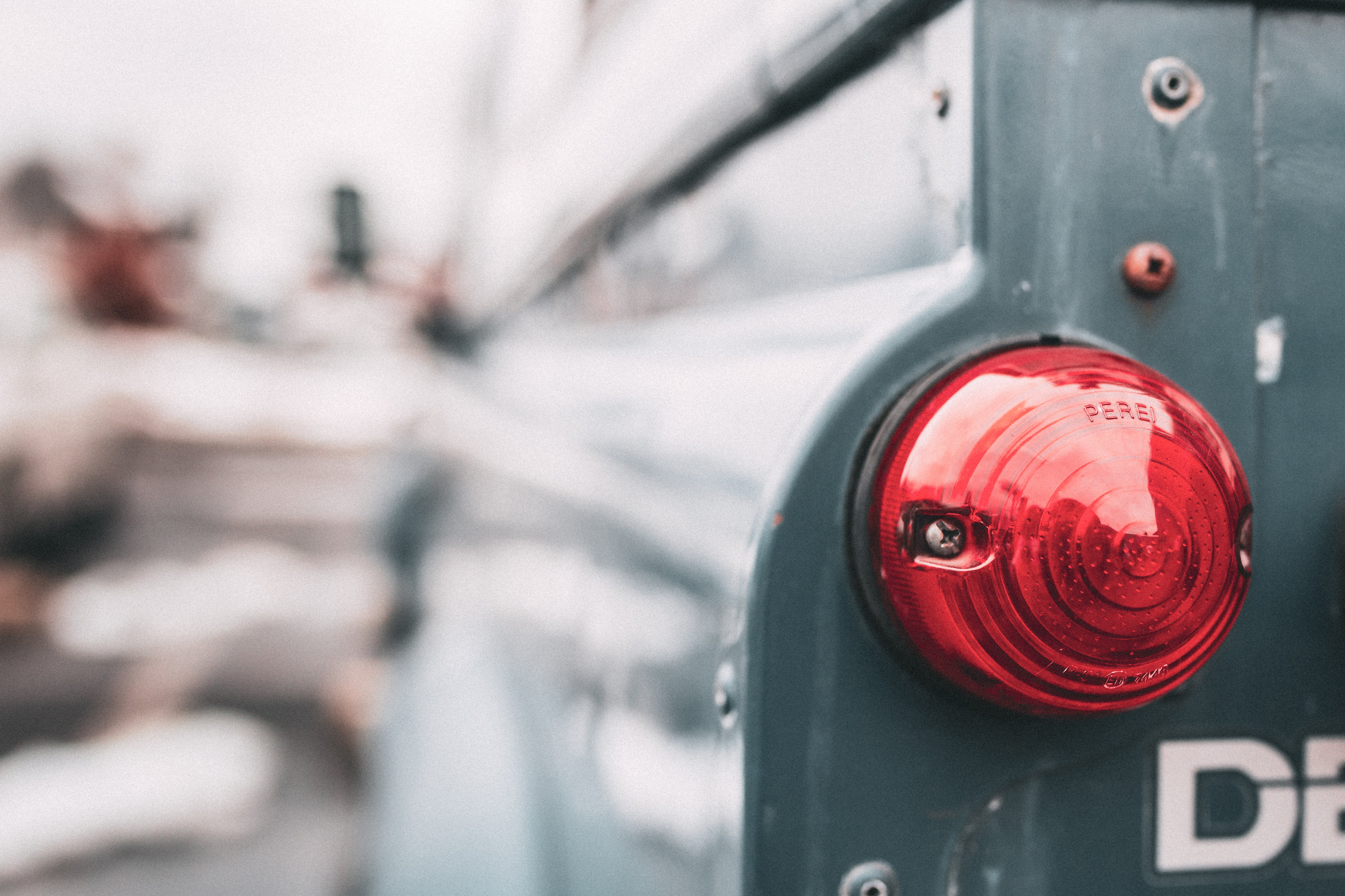 Selective Focus of Taillight