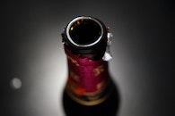 glass, blur, wine