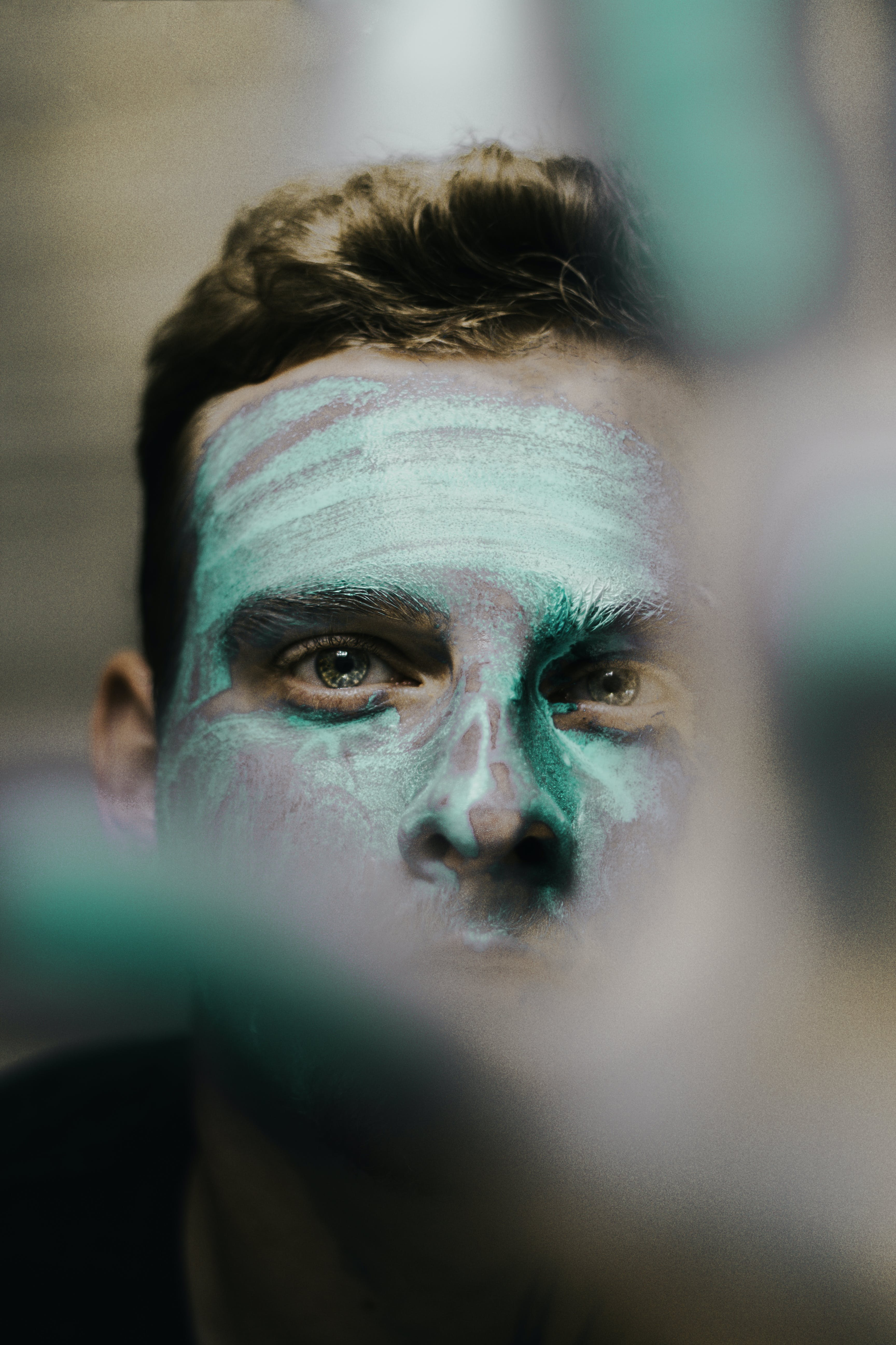 Photo of Man With Face Paint