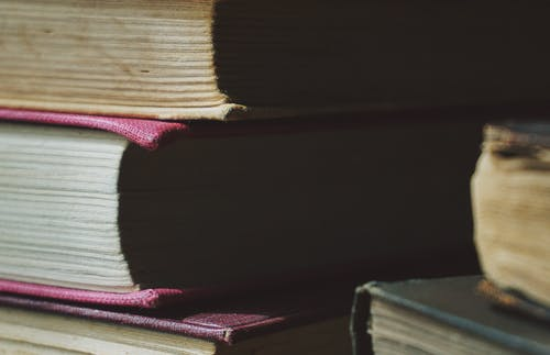 Selective Focus Photography of Books