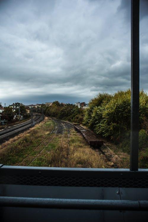 Základová fotografie zdarma na téma železnice, železniční trať
