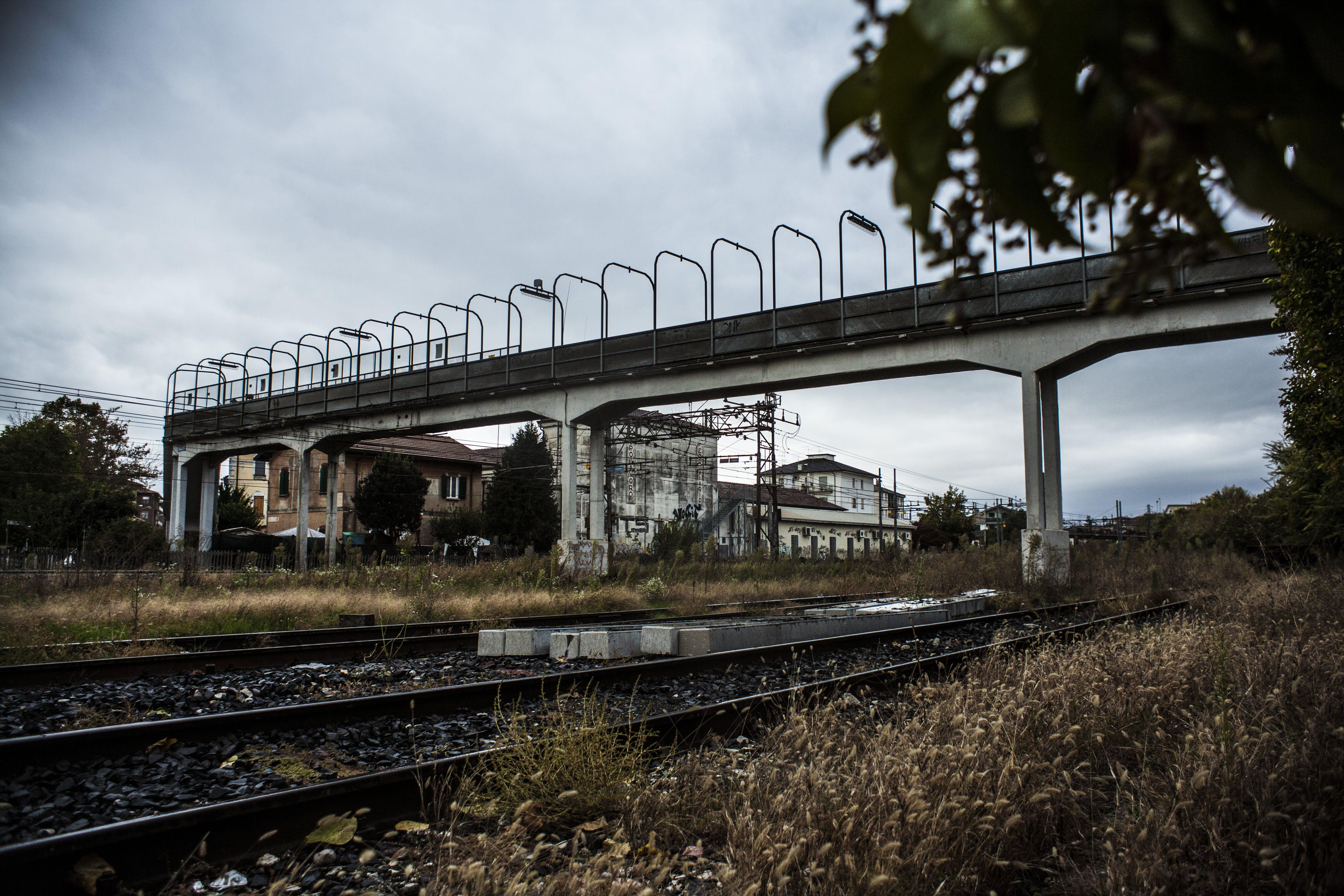 Free stock photo of railway, railway line