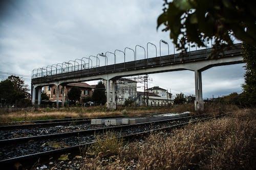 Kostnadsfri bild av järnvägslinje
