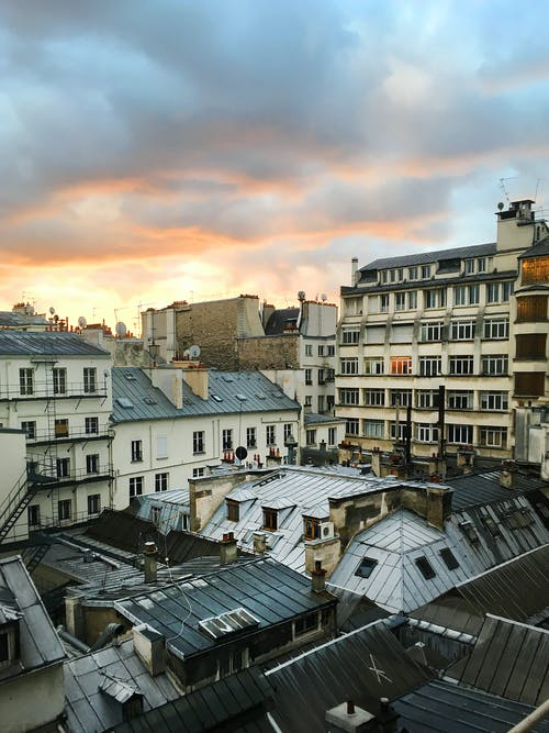 Free stock photo of city, clouds, paris