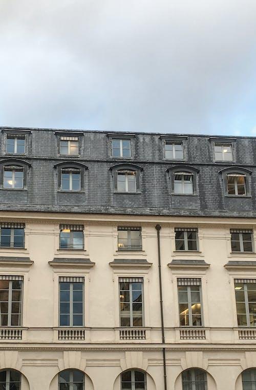 城市, 屋頂, 巴黎, 視窗 的 免費圖庫相片