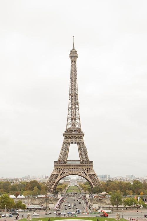 Eiffel Tower Under White Sky