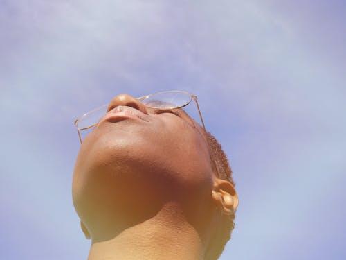 aramak, gözlük, Güneş ışığı, profil içeren Ücretsiz stok fotoğraf