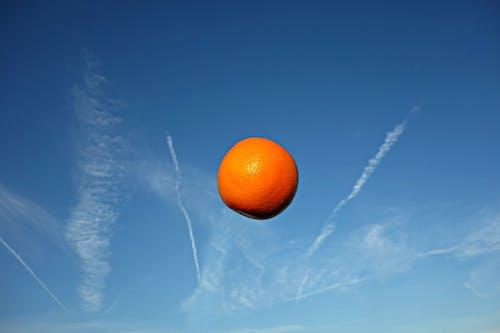 Бесплатное стоковое фото с апельсин, апельсин в небе, витамин, вкусный