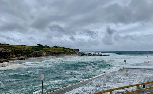 Avustralya, clovelly, kaya havuzu, okyanus içeren Ücretsiz stok fotoğraf