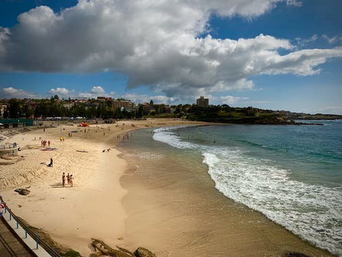 Avustralya, coogee, coogee beach, kum içeren Ücretsiz stok fotoğraf