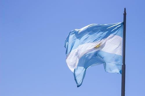 阿根廷, 阿根廷国旗 的 免费素材照片