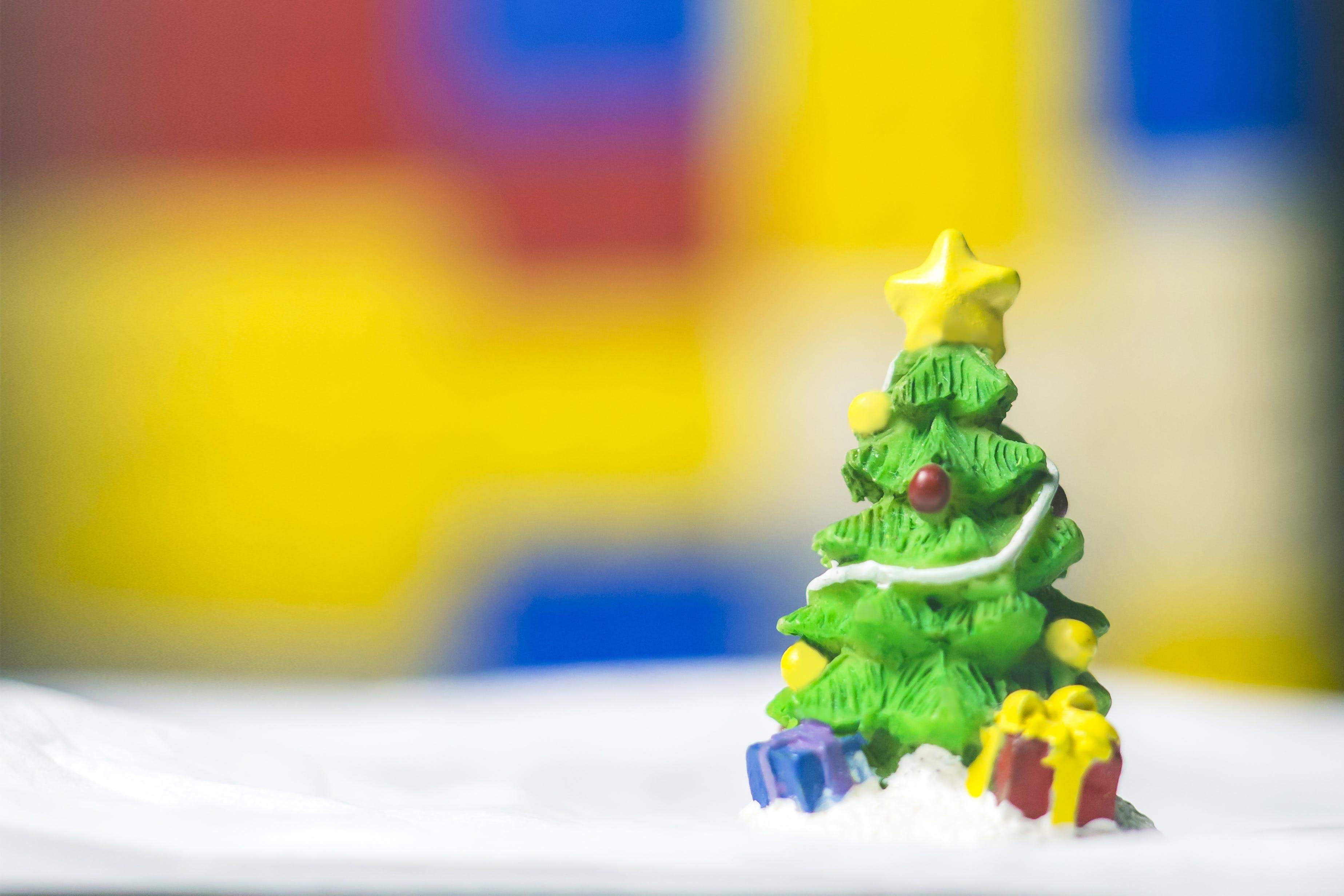 Free stock photo of background, christmas, christmas tree, color