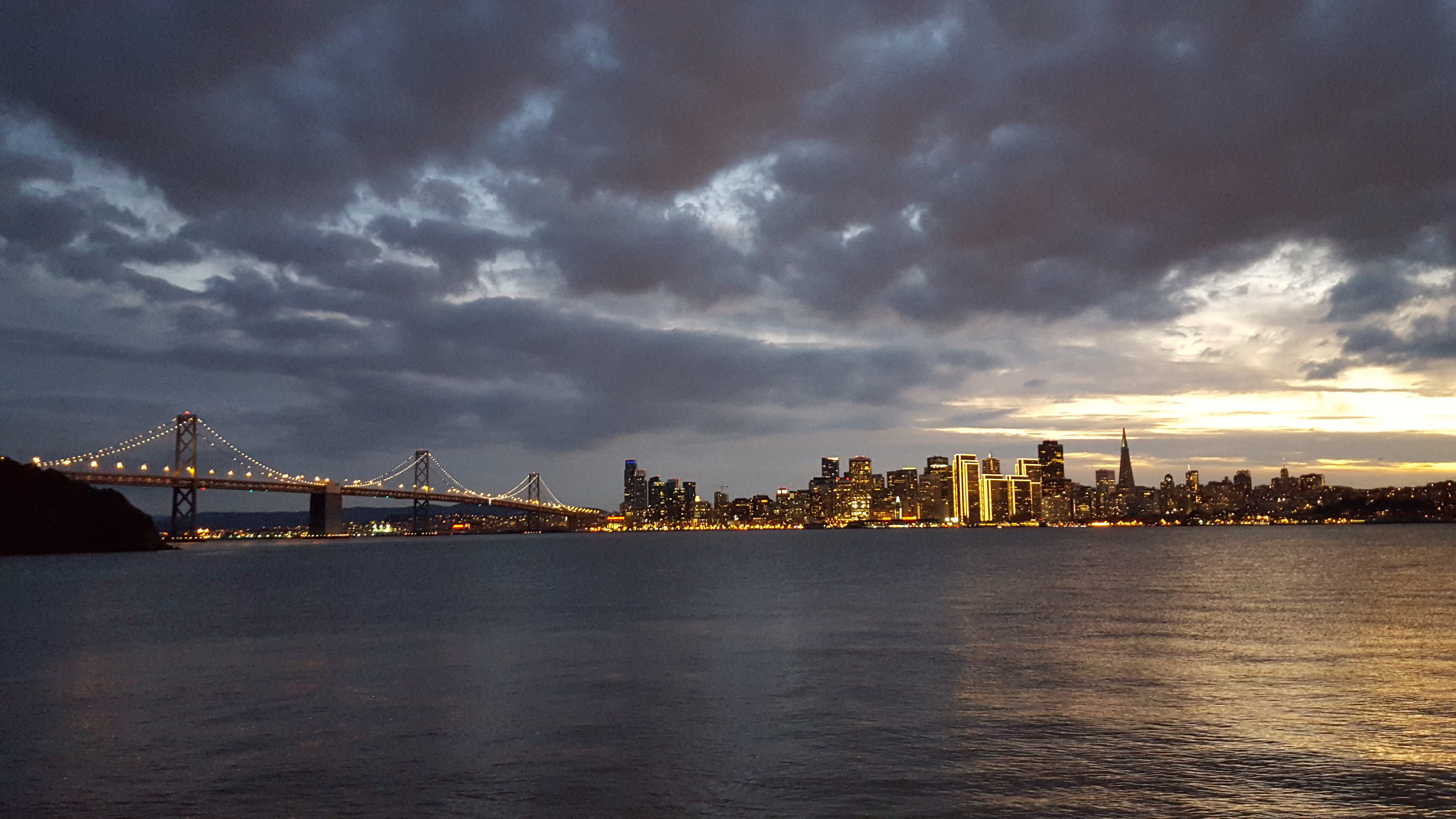 Free stock photo of city, clouds, cloudy, golden gate bridge