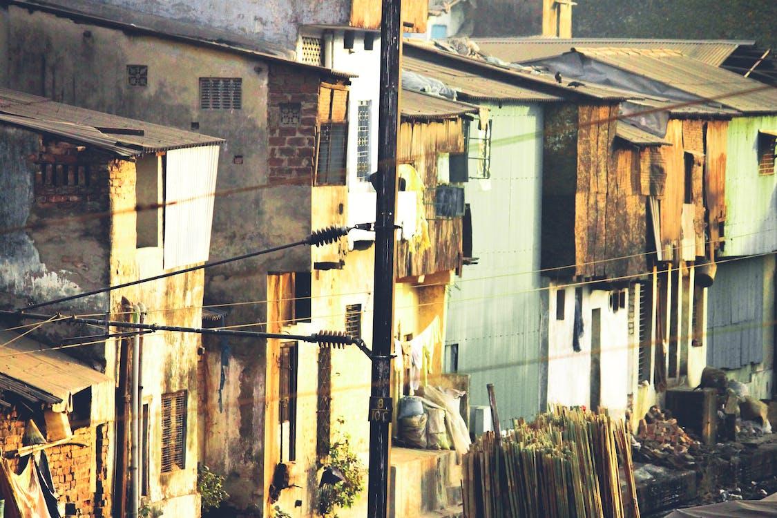 거리, 건설, 도시