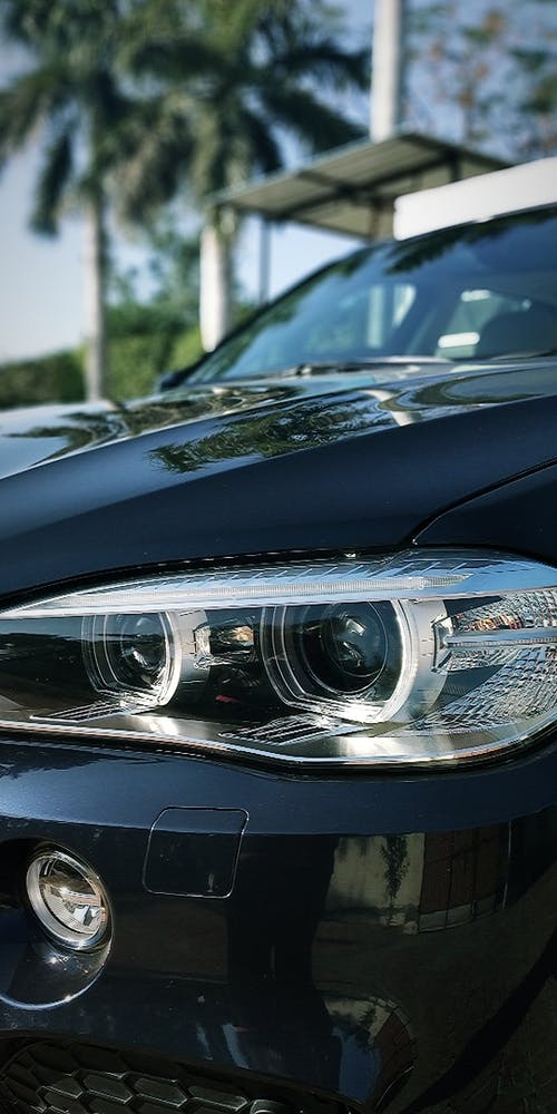 Free stock photo of automobile, automotive, blue car, BMW