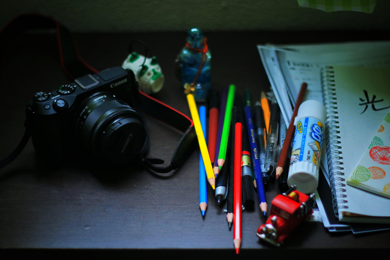 Free stock photo of art, artwork, camera, canon