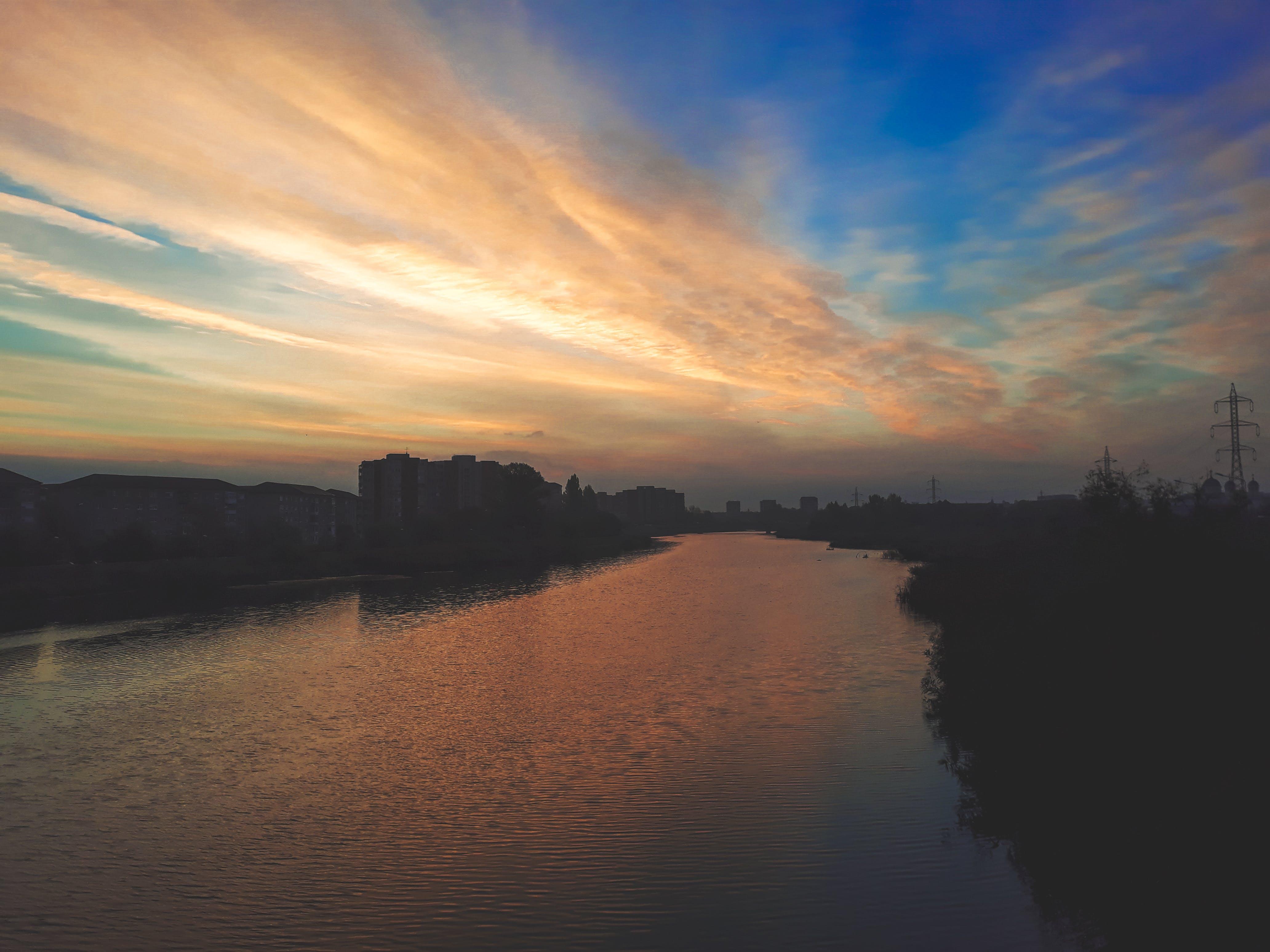 Free stock photo of golden sunset, sunset, water