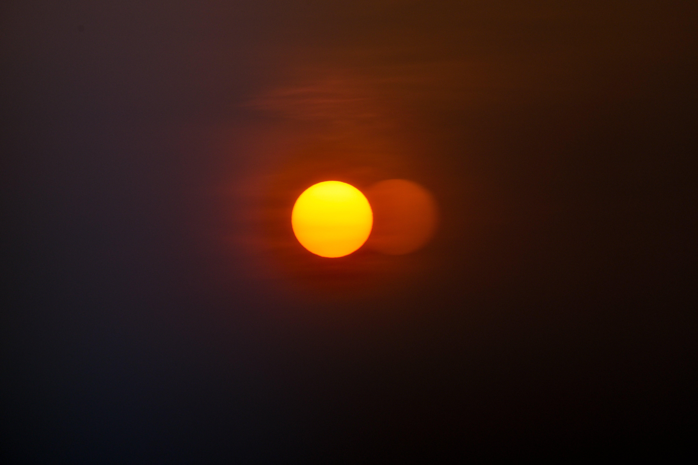 Gratis lagerfoto af appelsin, blaxtar, gul, himmel