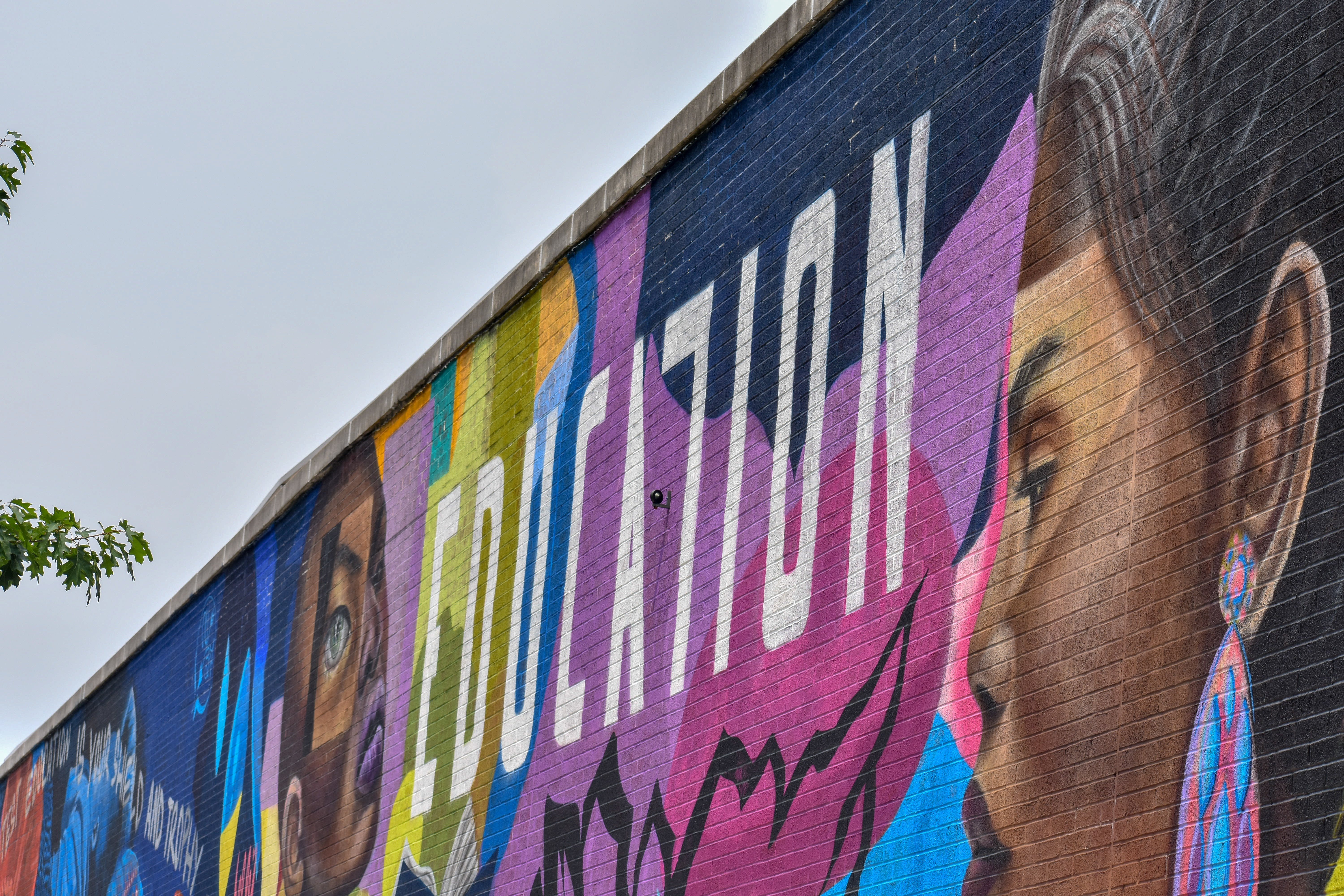 Education Painted Wall