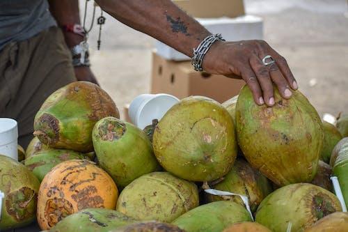 Foto d'estoc gratuïta de cocos, colors, deliciós, fruites