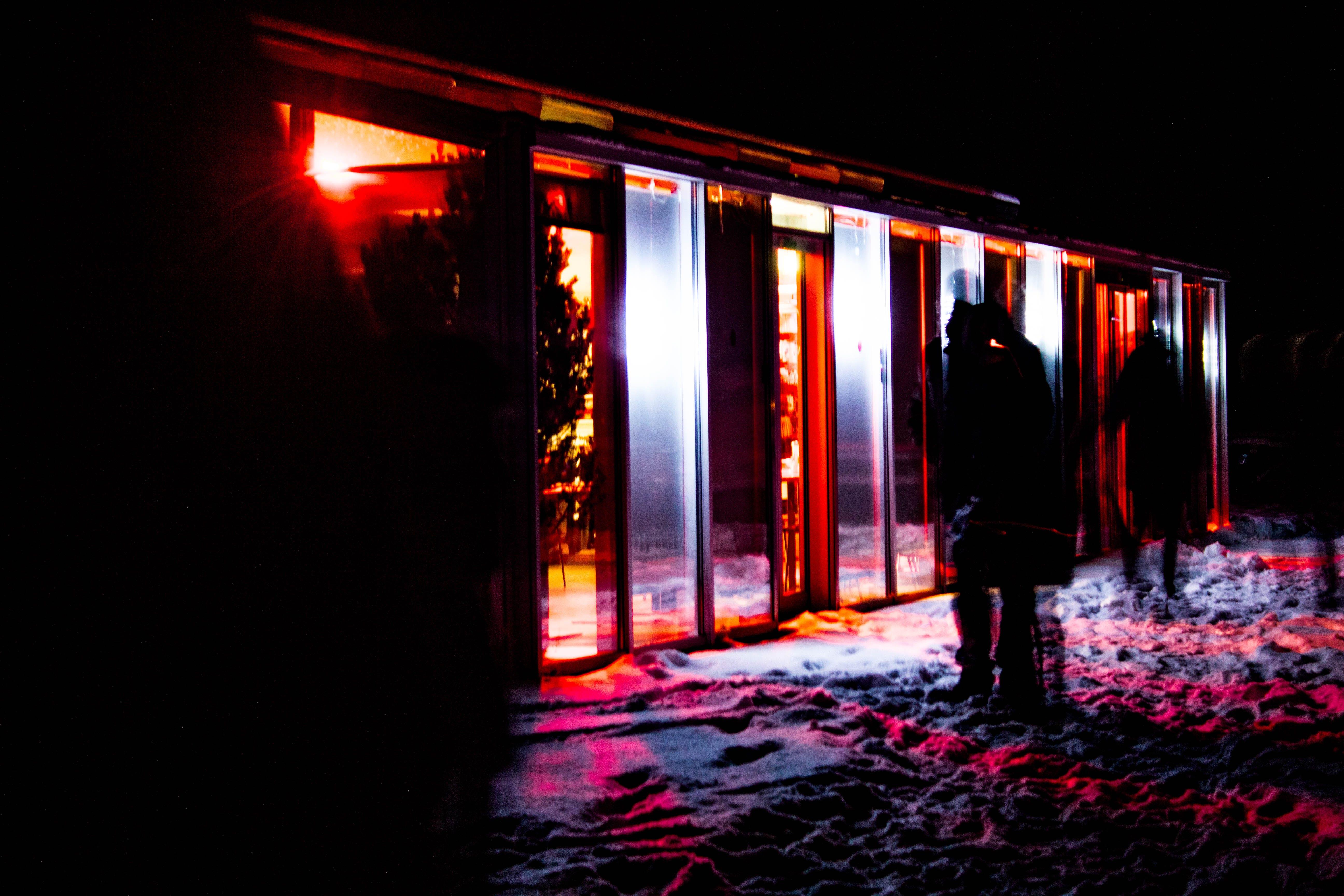 Kostenloses Stock Foto zu abbildung, abend, beleuchtet, beleuchtung