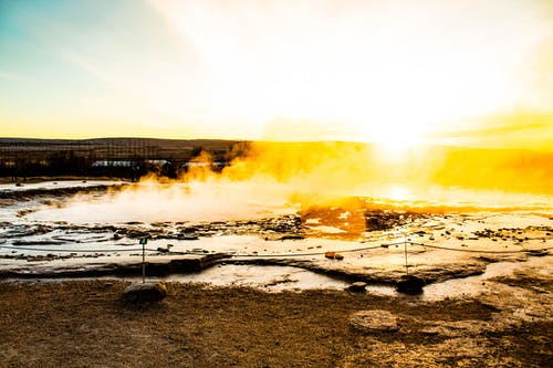 Free stock photo of geyser, iceland