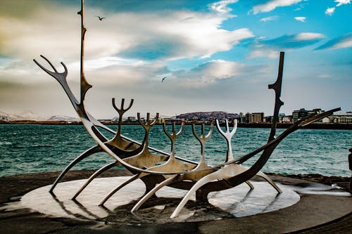 Free stock photo of boat, iceland, reykjavik, sculpture